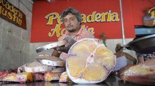 Un surubí trozado en postas para freír. FotoUNOMateo Oviedo.
