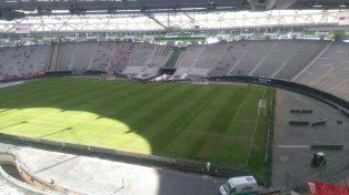 El estadio único de La Plata se prepara para recibir a Patronato. Foto @ClubPatronatoOf