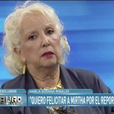Susana Rinaldi: Macri dice una mentira atrás de otra