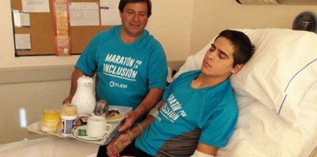 Gustavo Bou se sumó a la campaña Un dólar por Bruno