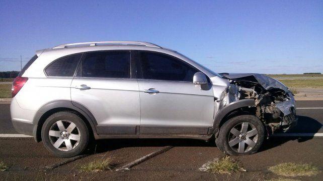 Nuevo accidente en la Autovía 14
