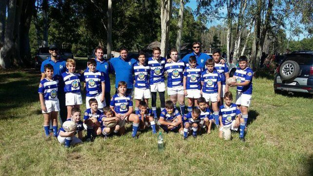 Los chicos de Colón RC participaron en la actividad que se desarrolló en Concordia.