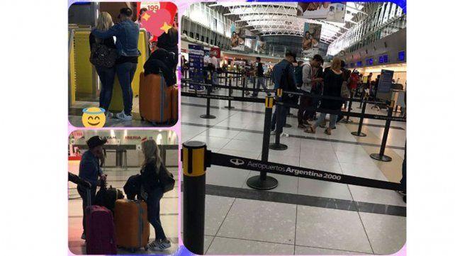 Fede Bal y Laurita Fernández se escaparon a Las Vegas