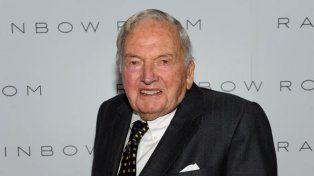A los 101 años murió el banquero David Rockefeller