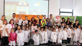 CGE desarrolla una jornada de Educación Vial en la escuela Del Centenario