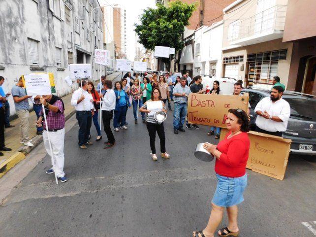 Trabajadores de la Secretaría de Energía retomaron las medidas de fuerza