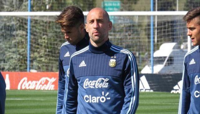 Zabaleta fue desafectado de la Selección