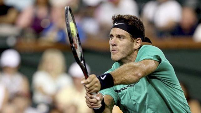 Del Potro podría enfrentar a Federer en Miami