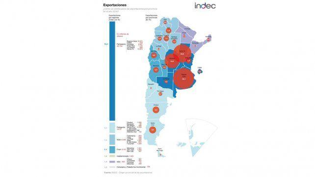 Según el Indec, Entre Ríos exportó menos en 2016