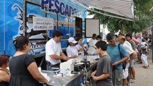 El camión de Pescado para Todos estará en Paraná y Crespo