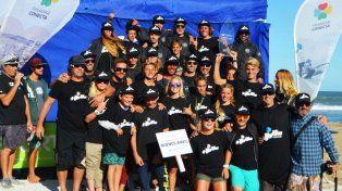 El equipo de Buenos Aires es el campeón nacional juvenil de surf