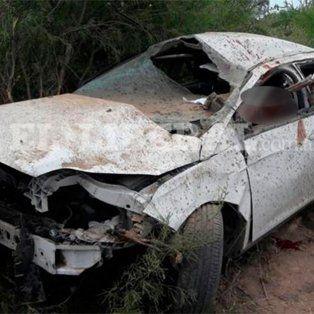 Un gendarme entrerriano murió tras volcar con su auto