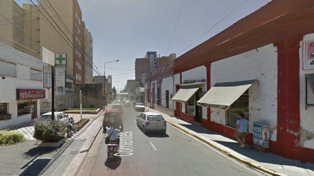 Evalúan cambiar el sentido a calle  Rosario del Tala