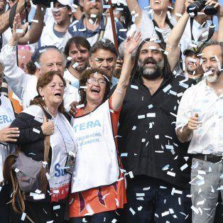 Multitudinaria marcha federal docente reclamó la paritaria nacional