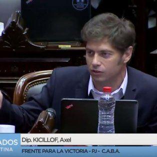 Kicillof a Marcos Peña: Usted no ve la realidad, no ve los 100 mil docentes que hoy va a haber en la calle