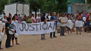 Basta. Tras la muerte de Jonathan Burgos, en barrio Parque pidieron más prevención policial.