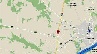 Un hombre murió atropellado en la ruta nacional 14
