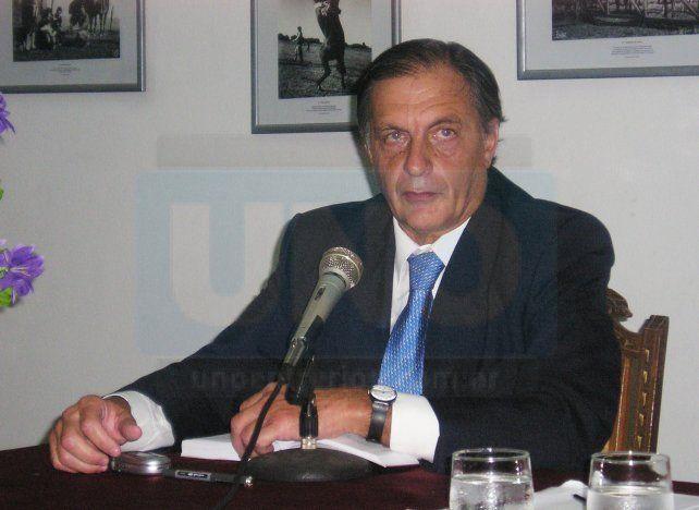 Me tienen sin cuidado. Salduna minimizó las críticas del abogado de Paraná.