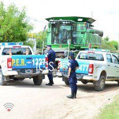 Un niño de siete años falleció aplastado por una cosechadora