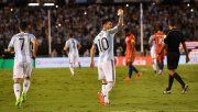 Argentina ganó, pero no dejó la mejor imagen