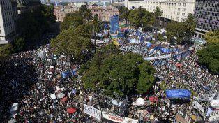 Reclamo. Basta de violencia institucional. La represión no puede ser la respuesta a la protesta social, se señaló en el documento.