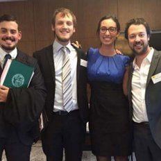 Un equipo de Derecho de la UBA le ganó a Harvard en una competencia internacional