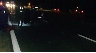 Motociclista falleció tras un choque en la ruta 12