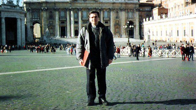 En Roma. Ilarraz enviado por Karlic partió al Viejo Continente cumpliendo una supuesta sanción.