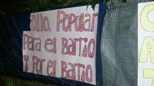 Solari respondió a los militantes que instalaron una olla popular frente al municipio de Paraná