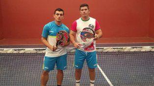 Vega y Farías jugaron un gran torneo y ahora viajan a Brasil.
