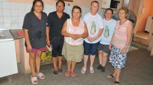 Unas 300 familias comen gracias a Cáritas de la iglesia Guadalupe