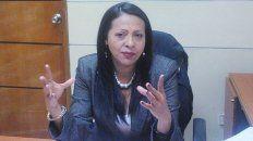 es un golpe por capitulos, dijo la diputada venezolana dignora hernandez