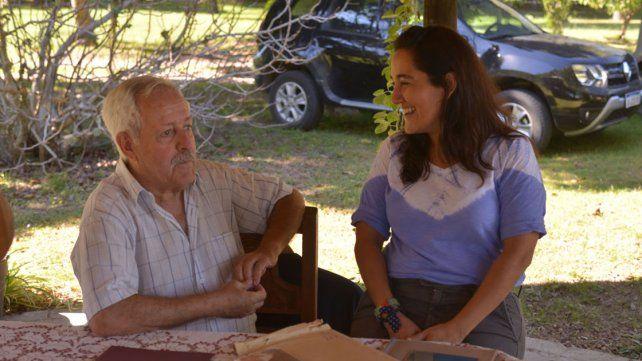 Reencuentro. Carlos María Vergara y Gabriela Mogica pasarán juntos este 2 de abril.