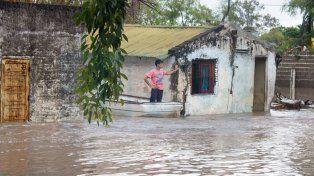 Temporal. Por la crecida de arroyos hubo asistencias directas a familias y traslados a zonas más seguras.
