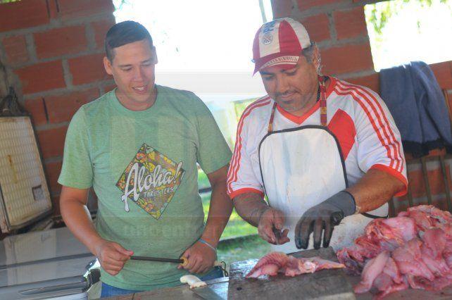 De primera. En el puesto de Marcos se vende buen pescado.