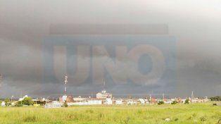 Intensas lluvias. En varias localidades de Paraná campaña ya hay precipitaciones.