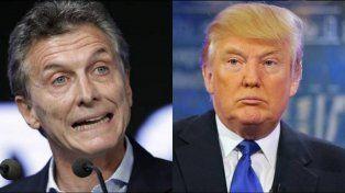 Macri y Trump.