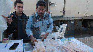Semana Santa: Venden pescado de río y otros productos a precios populares