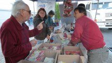 semana santa: venden pescado de rio y otros productos a precios populares