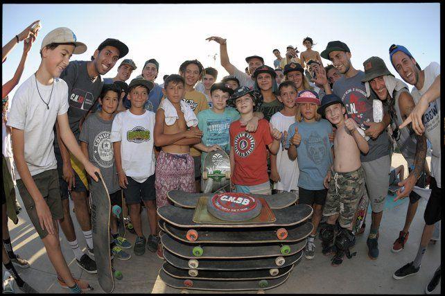 La película refleja lo que generó el Circuito Nacional de Skateboarding en Argentina. FotoLucas Magnacco.