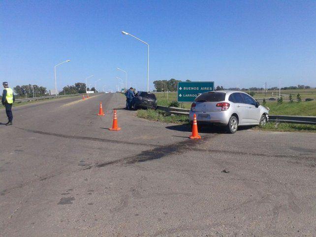 Dos accidentes en cuestión de minutos en la ruta provincial 16