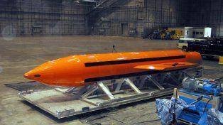 Así es La madre de todas las bombas que EE.UU lanzó en Afganistán