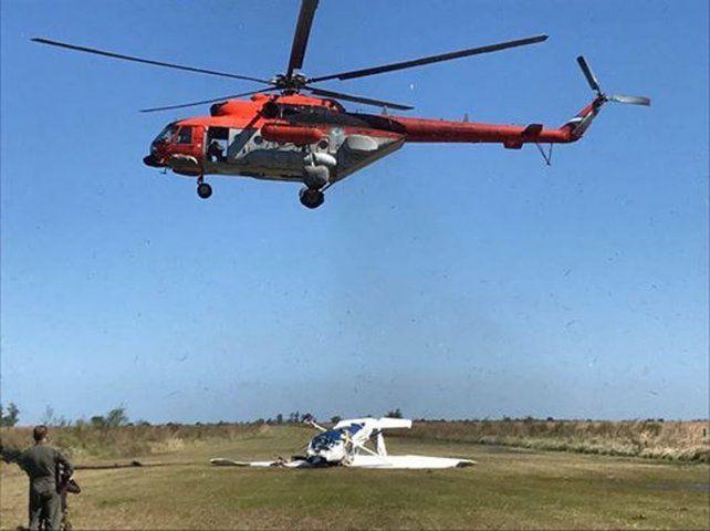 Así rescataron el avión que fue robado en Victoria