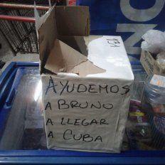 Bruno necesita 50.000 dólares para realizar un tratamiento en CUBA. Foto PER.