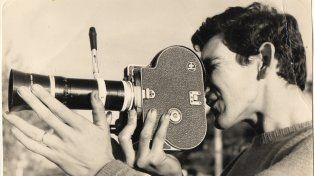 Oficio. El joven Noble realizó como camarógrafo de televisión su primera nota en 1968.