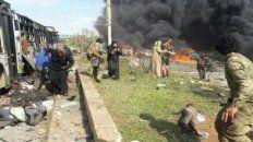 ya son mas de 100 los muertos por coche bomba contra micros con evacuados en siria