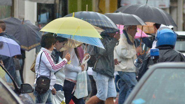 El pronóstico meteorológico viene mojado