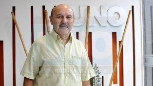 Amistad. Juan Manuel Alfaro (foto) compiló y prologó la obra poética de su colega y amigo.