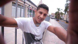 La Selfie de Arce que hoy festejo en La Bombonera. Foto UNO Juan Ignacio Pereira.