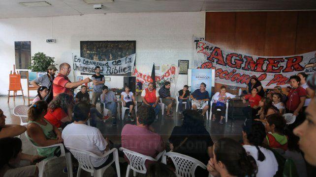 Agmer comienza la semana con asambleas y movilización